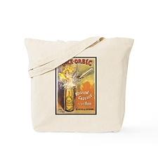 Bock Orbec Vintage Poster Tote Bag