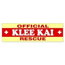 KLEE KAI Bumper Bumper Sticker