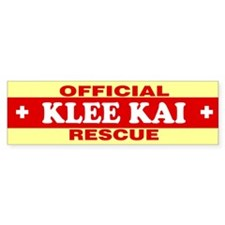 KLEE KAI Bumper Car Sticker