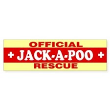 JACK-A-POO Bumper Bumper Sticker