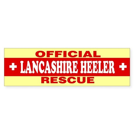 LANCASHIRE HEELER Bumper Sticker