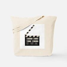 Shoot film, not guns Tote Bag