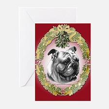 Bulldog Greeting Cards (Pk of 20)