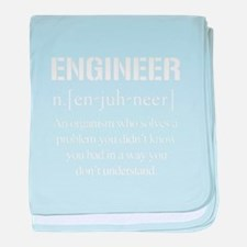 Engineer defined T-shirt baby blanket