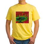 Quadtopia Sunrise Yellow T-Shirt