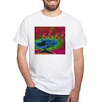 Quadtopia Sunrise White T-Shirt