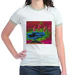 Quadtopia Sunrise Jr. Ringer T-Shirt