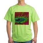 Quadtopia Sunrise Green T-Shirt
