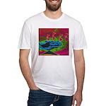 Quadtopia Sunrise Fitted T-Shirt