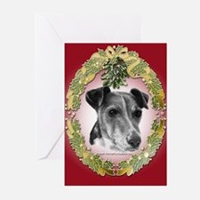 Fox Terrier Christmas Greeting Cards (Pk of 20)