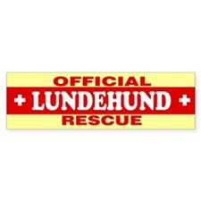 LUNDEHUND Bumper Bumper Sticker