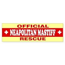 NEAPOLITAN MASTIFF Bumper Bumper Sticker