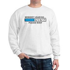 Memory Loading Guy Sweatshirt