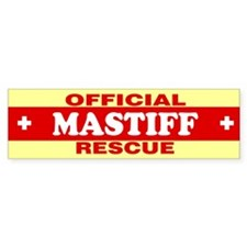 MASTIFF Bumper Bumper Sticker