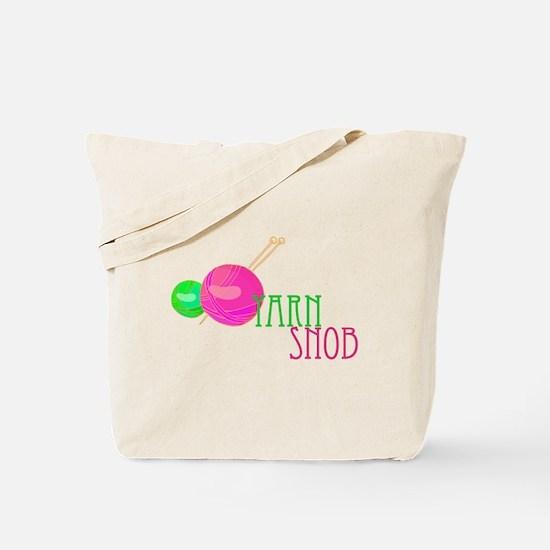 Yarn Snob Tote Bag