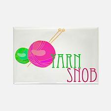 Yarn Snob Rectangle Magnet