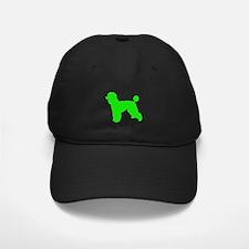 Poodle Lt Green 1C Baseball Hat