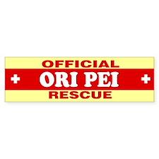 ORI PEI Bumper Bumper Sticker