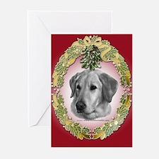 Yellow Lab Christmas Greeting Cards (Pk of 20)