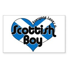 Scottish Rectangle Decal