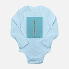Olympic National Park. Long Sleeve Infant Bodysuit
