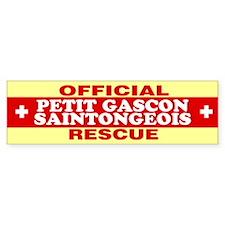 PETIT GASCON SAINTONGEOIS Bumper Bumper Sticker