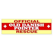 OLD DANISH POINTER Bumper Bumper Sticker