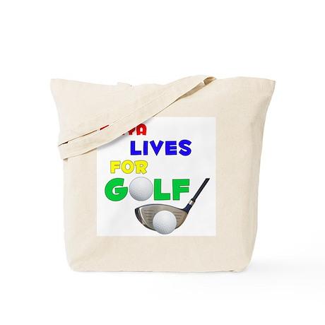 Kaiya Lives for Golf - Tote Bag