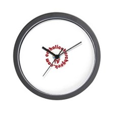 Funny Catholic youth Wall Clock