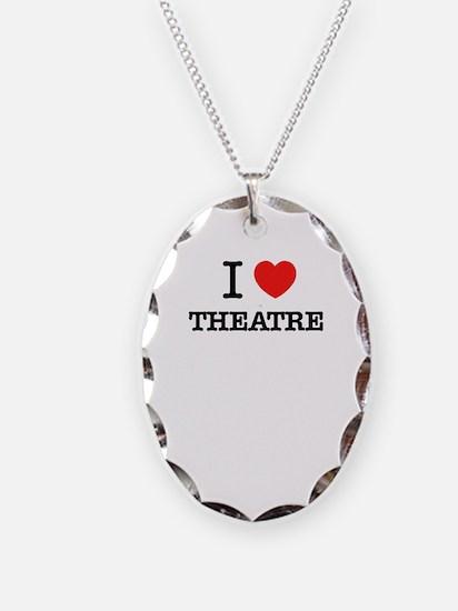 I Love THEATRE Necklace