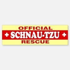 SCHNAU-TZU Bumper Bumper Bumper Sticker