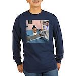 Karlo's Chemo Long Sleeve Dark T-Shirt