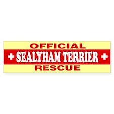 SEALYHAM TERRIER Bumper Car Sticker