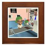 Katrina's Chemo Framed Tile