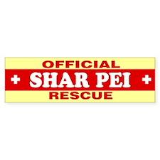SHAR PEI Bumper Bumper Sticker