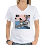 Kevin's Chemo Women's V-Neck T-Shirt
