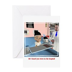 Kevin's Chemo Greeting Card