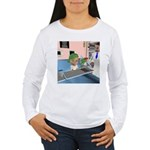 Kit's Chemo Women's Long Sleeve T-Shirt