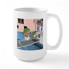 Kit's Chemo Large Mug