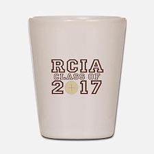 RCIA Class of 2017 Shot Glass