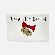 Jingle My Bells! Rectangle Magnet