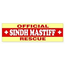 SINDH MASTIFF Bumper Bumper Sticker