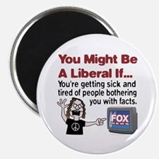"Liberals Hate Facts 2.25"" Magnet (10 pack)"