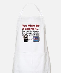 Liberals Hate Facts BBQ Apron