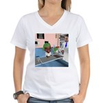 Katy's Chemo Women's V-Neck T-Shirt