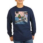 Katy's Chemo Long Sleeve Dark T-Shirt