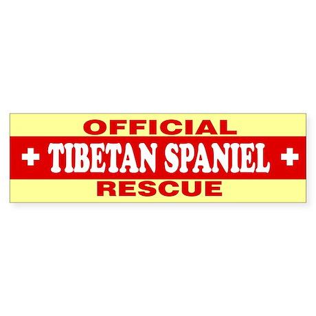 TIBETAN SPANIEL Bumper Sticker