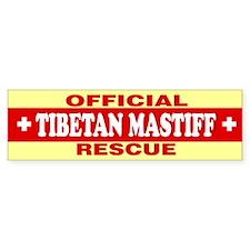 TIBETAN MASTIFF Bumper Bumper Sticker