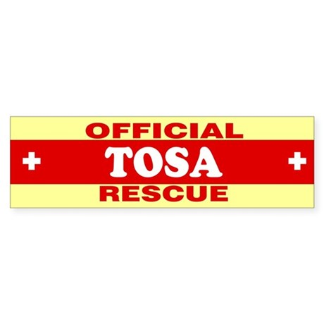 TOSA Bumper Sticker