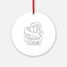 Kaa Round Ornament